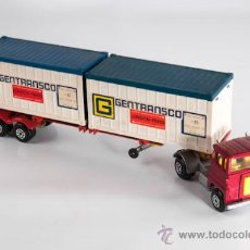 Coches a escala: CAMION TRAILER, MARCA MATCHBOX (SUPERKINGS), AÑO 1973, MADE IN ENGLAND. Lote 38895480