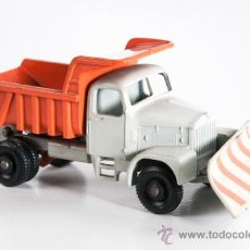 Coches a escala: CAMION CON BOLQUETE Y QUITANIEVES, SCAMMELL, Nº 16. Lote 38895553