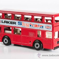 Coches a escala: AUTOBUS DOBLE INGLES, MARCA MATCHBOX, AÑO 1981. Lote 38895565