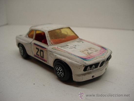 COCHE METALICO BMW 3,3 CSL GUISVAL AÑOS 70-80 ESC. 1/37 (Juguetes - Coches a Escala Otras Escalas )