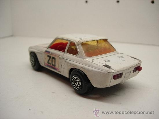 Coches a escala: coche metalico BMW 3,3 CSL Guisval años 70-80 esc. 1/37 - Foto 2 - 38981261