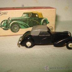 Coches a escala: ANTIGUO BUGATTI Nº 110 NEGRO GRIS MINICARS MINI CARS DE ANGUPLAS A ESTRENAR . AÑO 1962. Lote 274315403