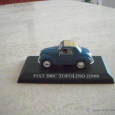 Coches a escala: FIAT 500C TOPOLINO (1949). Lote 39310199