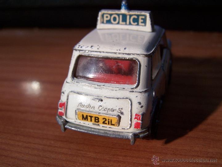Coches a escala: Dinky Toys Police Mini Cooper - Foto 8 - 39352469