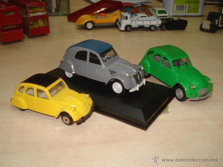 Coches a escala: Lote Citroën 2 CV. - Foto 2 - 38823624