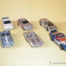 Coches a escala: HOTWHEELS! HOT WHEELS DIE-CAST - LOTE 5X COCHES. Lote 166972236