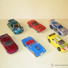 Coches a escala: HOTWHEELS! HOT WHEELS DIE-CAST - LOTE 6X COCHES. Lote 40688944