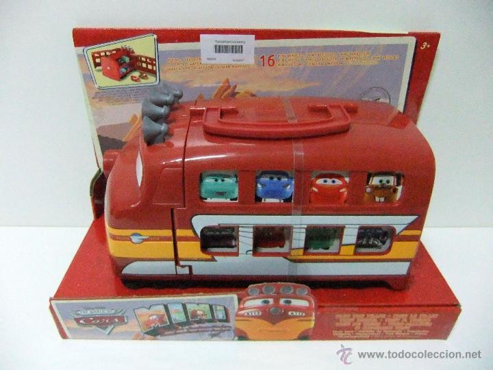 Coche Maletín Train Pixar The Cars Disney Transportacoches Trev Juguete Mattel Tren qMVLpGUzS