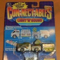 Coches a escala: (M) CONNECTABLES LIGHT'N'SOUND MATCHBOX CON BLISTER , PARA ESTRENAR. Lote 41266152