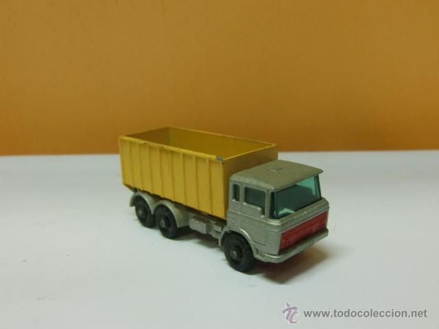 Coches a escala: Juguete Matchbox. By Lesny -Englanda nº 47. Tipper container truck - Foto 1 - 41772371