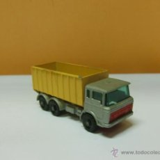 Coches a escala: JUGUETE MATCHBOX. BY LESNY -ENGLANDA Nº 47. TIPPER CONTAINER TRUCK. Lote 41772371
