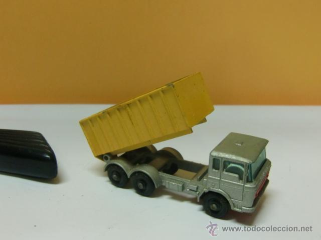 Coches a escala: Juguete Matchbox. By Lesny -Englanda nº 47. Tipper container truck - Foto 2 - 41772371