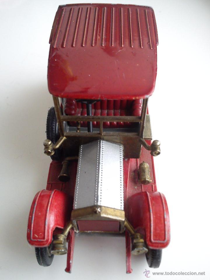 Coches a escala: ANTIGUO COCHE DE HIERRO AÑOS 50/60 SELLADO MACHBOX 1912 ROLLS.ROYCE MAD IN ENGLND BY LESNEY N. Y. 7 - Foto 3 - 42113322
