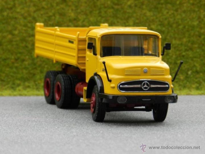 Coches a escala: Camión Volquete Meiller Mercedes LAK 2624 NZG Escala 1:50 - Foto 3 - 42517169