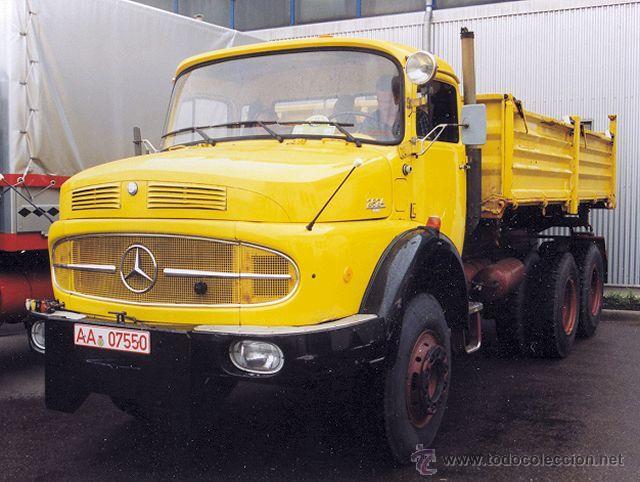 Coches a escala: Camión Volquete Meiller Mercedes LAK 2624 NZG Escala 1:50 - Foto 4 - 42517169
