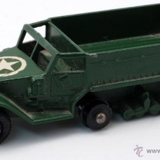 Coches a escala: CAMIÓN MILITAR ORUGA PERSONNEL CARRIER MATCHBOX BY LESNEY. Lote 42665877
