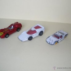Coches a escala: MATCHBOX - LOTE DE 3X COCHES - DIE-CAST 1:64 / 3 INCHES. Lote 42688631