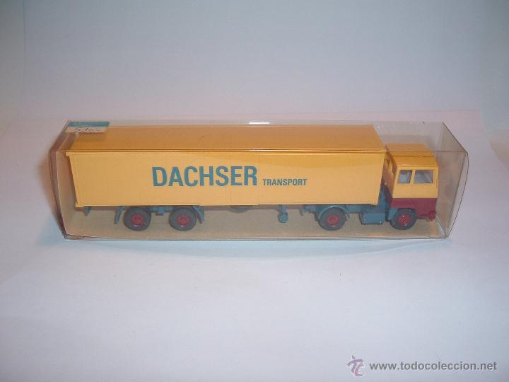 WIKING, FORD TRANSCONTINENTAL DACHSER TRANSPORT, REF. 540. (Juguetes - Coches a Escala Otras Escalas )