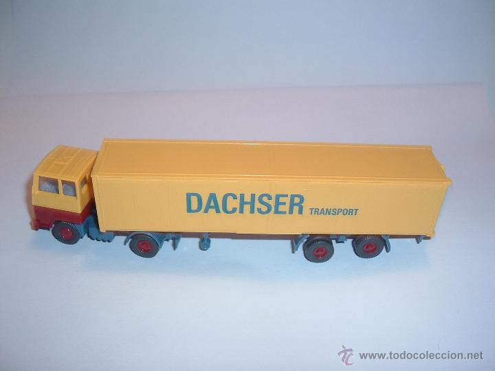 Coches a escala: WIKING, FORD TRANSCONTINENTAL DACHSER TRANSPORT, REF. 540. - Foto 2 - 42725929