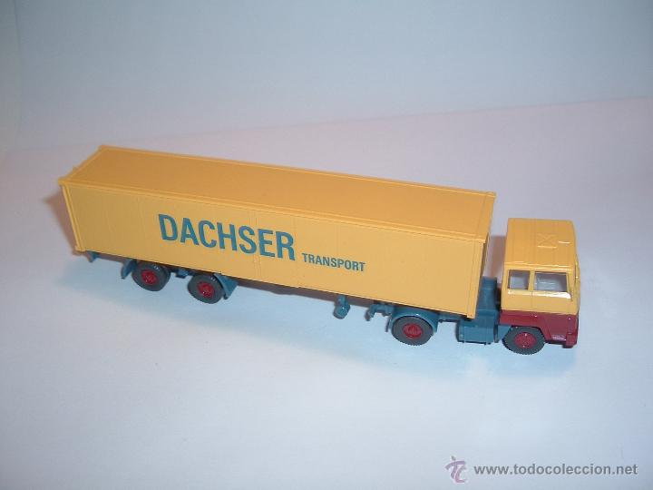 Coches a escala: WIKING, FORD TRANSCONTINENTAL DACHSER TRANSPORT, REF. 540. - Foto 3 - 42725929