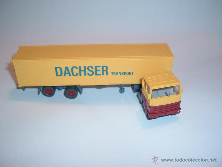 Coches a escala: WIKING, FORD TRANSCONTINENTAL DACHSER TRANSPORT, REF. 540. - Foto 4 - 42725929