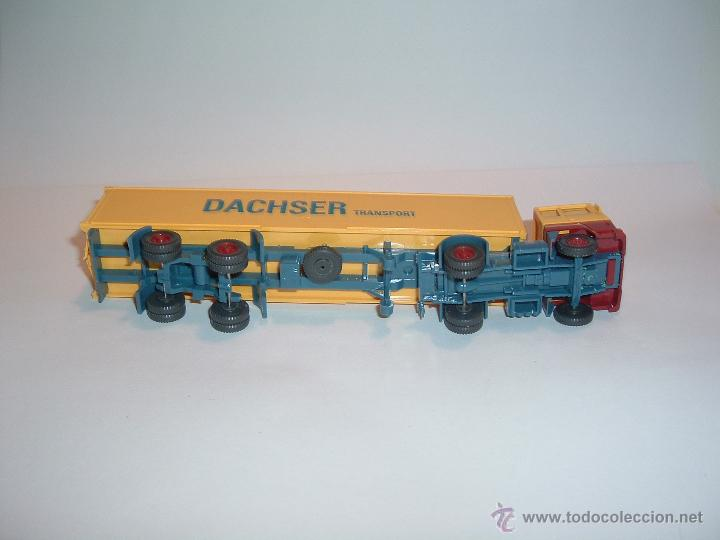 Coches a escala: WIKING, FORD TRANSCONTINENTAL DACHSER TRANSPORT, REF. 540. - Foto 5 - 42725929