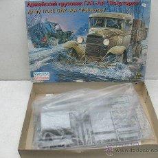 Coches a escala: EASTERN EXPRESS -ARMY TRUCK GAZ-AA -POLUTORKA- Nº35122 / ESCALA 1:35. Lote 42770092