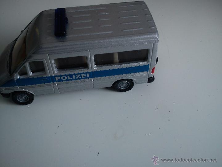 Coches a escala: BONITO BUS DE POLICIA,MARCASIKU. 0804 - 0805. - Foto 4 - 42802659