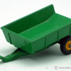 Coches a escala: REMOLQUE TRACTOR LESNEY MATCHBOX TIPPING TRAILER Nº 51 AÑOS 60. Lote 43474711