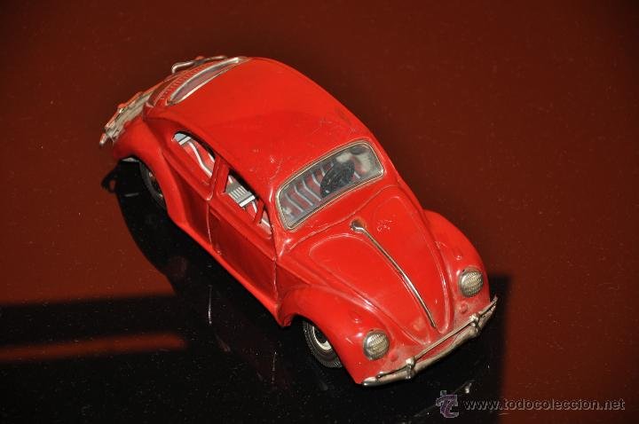 Coches a escala: tin toy volkswagen made in japan sign of quality coche de 1960 aprox a friccion - Foto 2 - 44075421