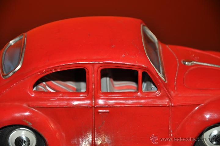 Coches a escala: tin toy volkswagen made in japan sign of quality coche de 1960 aprox a friccion - Foto 4 - 44075421