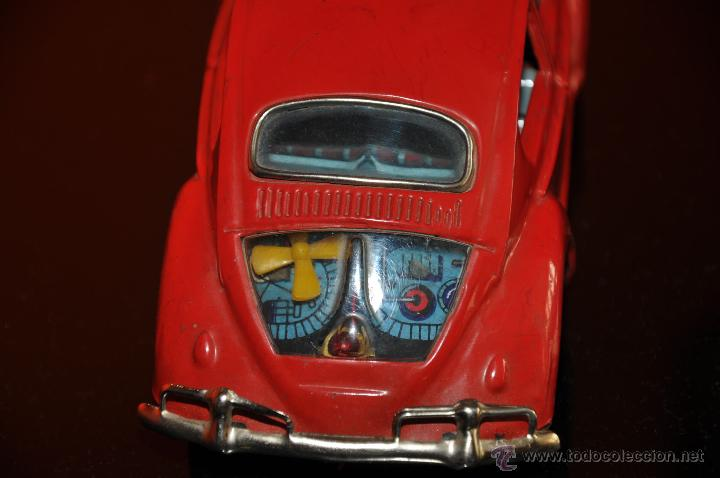 Coches a escala: tin toy volkswagen made in japan sign of quality coche de 1960 aprox a friccion - Foto 6 - 44075421