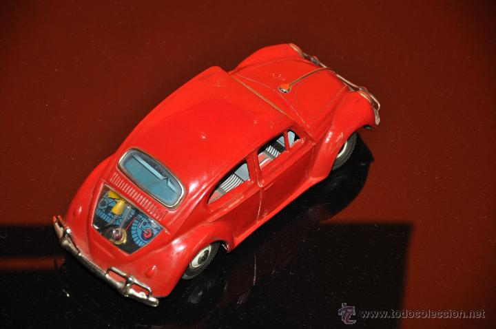 Coches a escala: tin toy volkswagen made in japan sign of quality coche de 1960 aprox a friccion - Foto 7 - 44075421