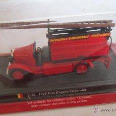 Coches a escala: CAMION BOMBEROS, DEL PRADO, 1:50 1929 FIRE ENGINE CHEVROLET, EN CAJA. ( GA-73 ) CC. Lote 45091253