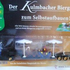 Coches a escala: CAMION TRAILER MAN CERVEZA KULMBACHER EN BLISTER SIN ABRIR . Lote 45216437