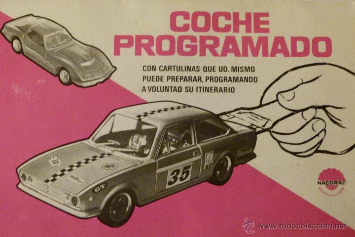 Coches a escala: COCHE PROGRAMADO NACORAL - SIN CAJA - TODO ORIGINAL - Foto 6 - 45574098