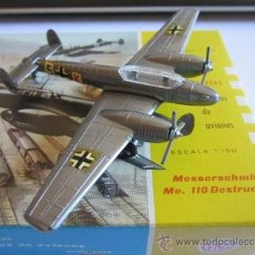 Coches a escala: EKO AVION, MESSERSCHMITT ME. 110 DESTRUCTOR, Nº 5004, ESCALA 1:150. Lote 38076471