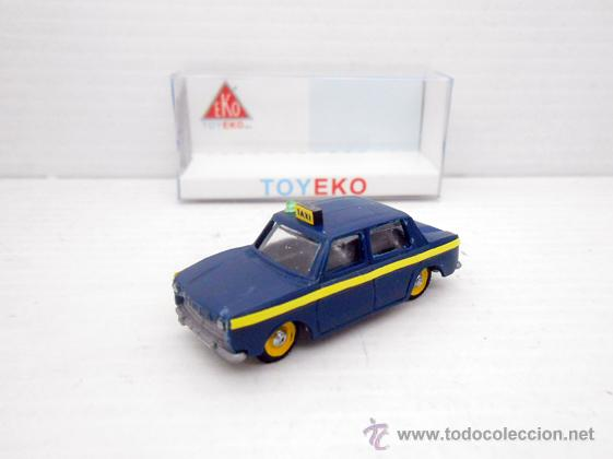 Simca 1000 micro taxi microtaxi madrid toy eko Vendido en