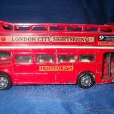 Coches a escala: LONDON BUS METALICO, DESCUBIERTO.. Lote 46671093