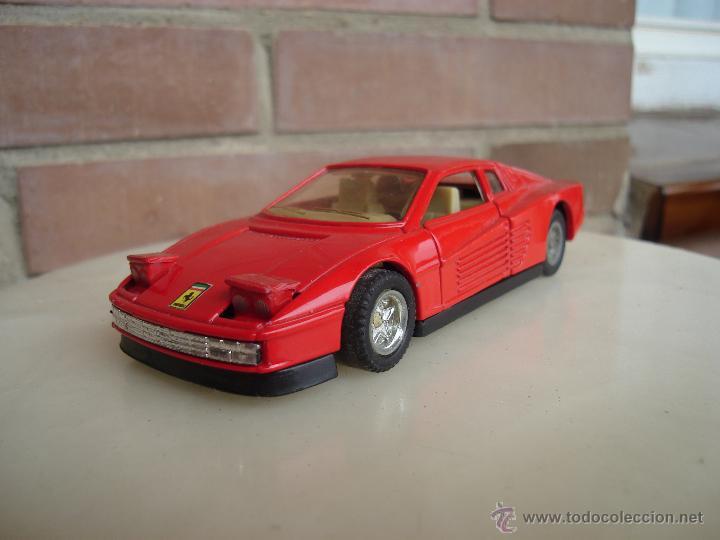 Ferrari testarossa mc 1 puer comprar coches en miniatura a otras escalas en - Puertas escamoteables ...