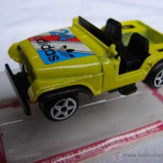 Coches a escala: JEEP WILLYS ADIDAS RALLY Nº 24 - GUISVAL. Lote 47332987