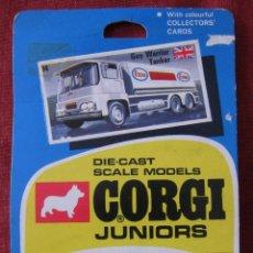 Coches a escala: CORGI TOYS - CORGI JUNIORS - 14 - GUY WARRIER TANKER. Lote 47867404