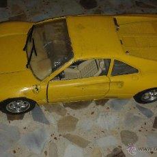Coches a escala: COCHE BURAGO: FERRARI 1984, MADE IN ITALY. Lote 47936479