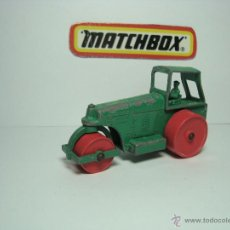 Coches a escala: MATCHBOX LESNEY SERIES Nº 1 ROAD ROLLER 1,64 APISONADORA. Lote 40137877