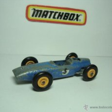 Coches a escala: MATCHBOX LESNEY SERIES Nº52 COCHE FORMULA 1 BRM AÑOS 60 1,64. Lote 31301217