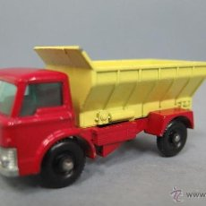 Coches a escala: GRIT SPREADING TRUCK. 70. MATCHBOX. LESNEY. BUEN ESTADO. Lote 48009202