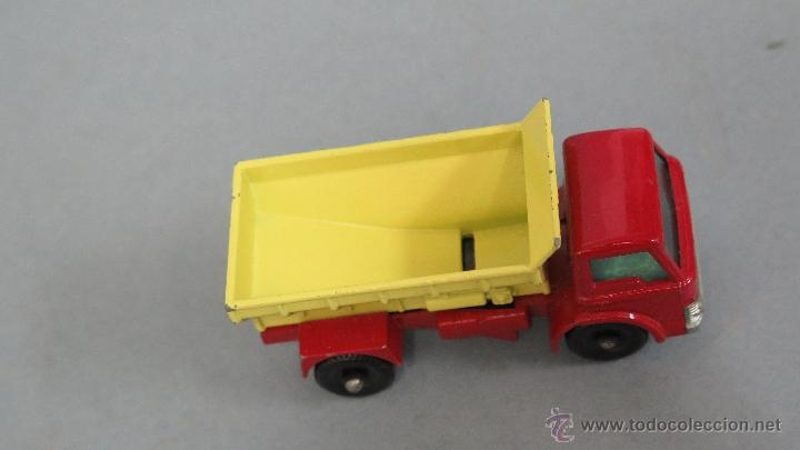 Coches a escala: GRIT SPREADING TRUCK. 70. MATCHBOX. LESNEY. BUEN ESTADO - Foto 4 - 48009202