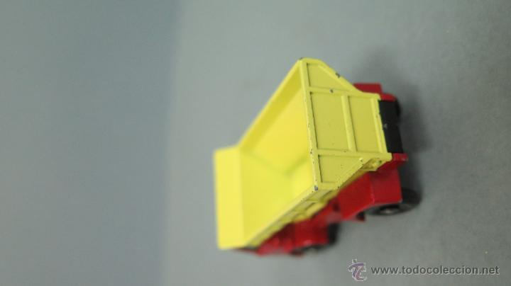 Coches a escala: GRIT SPREADING TRUCK. 70. MATCHBOX. LESNEY. BUEN ESTADO - Foto 5 - 48009202