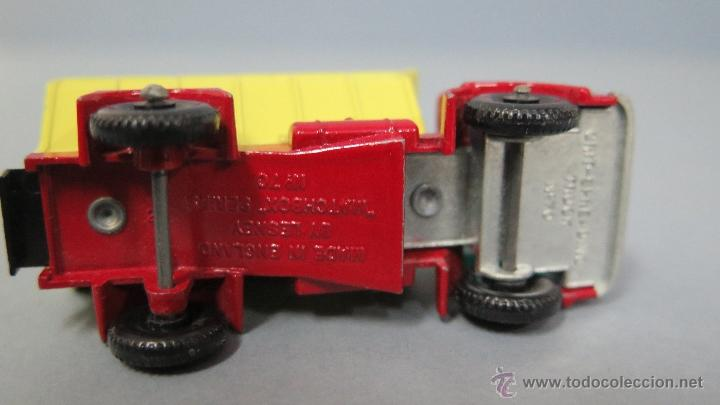 Coches a escala: GRIT SPREADING TRUCK. 70. MATCHBOX. LESNEY. BUEN ESTADO - Foto 6 - 48009202