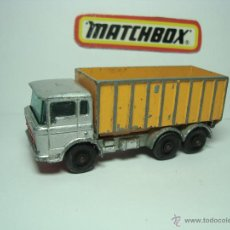 Coches a escala: MATCHBOX LESNEY SERIES Nº47 CAMION DAF TIPPER CONTAINER TRUCK 1,64. Lote 37175982